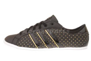 Adidas Derby Qt w Neo Label Black Gold Star Womens Casual Shoes G52334