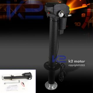 RV TRUCK 3500LBS LIFT ELECTRIC TONGUE JACK TRAILER ADJUSTABLE W LED