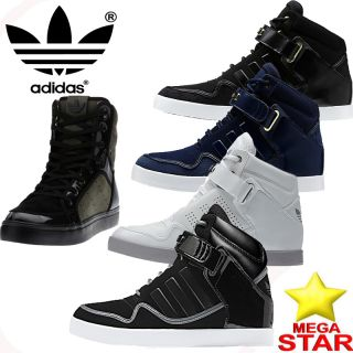 Adidas Trainers Mens Adi Rise Mid Hi Top Brand New