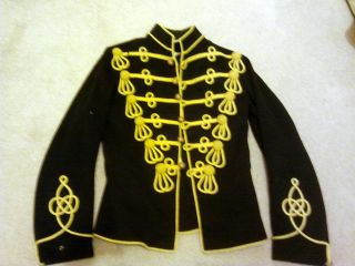 19th century Mens Hussar Jacket. Adam Ant / Michael Jackson military