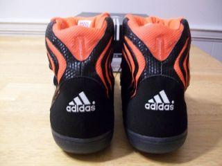 Adidas Adistrike John w Smith Wrestling Shoes Mens Size 15 Black White