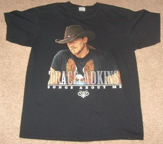 Trace Adkins Concert Tour Shirt Things About Me 2005 05 Large Country