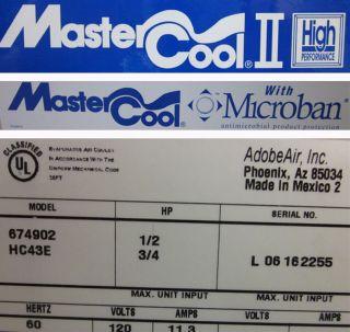 Adobeair Mastercool II Evaporative Swamp Air Cooler