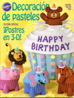 Wilton 2009 Yearbook Spanish Decoracion de Pasteles