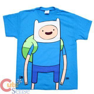 CN Adventure Time Finn and Jake Finn Kids T Shirt Youth T ( 4 Size