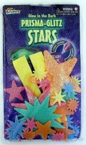 Glow in The Dark Glitter Stars Kid Room Decoration New