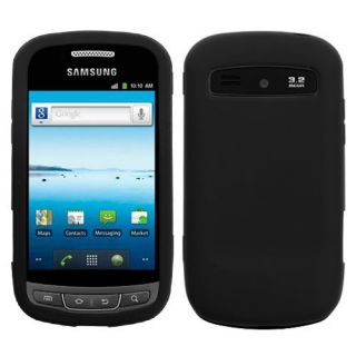 Samsung Admire R720 Silicon Soft Gel Rubber Case Skin Black Metro Pcs