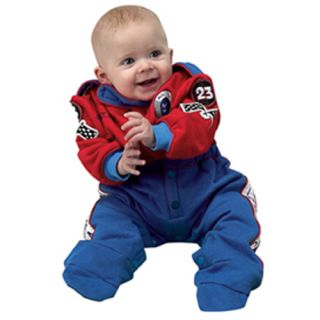 Aeromax Baby Boys Red Race Car Driver Halloween Costume Outfit 6 12M