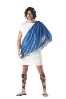 toga man adult greek god mens halloween costume