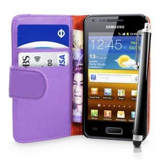 Leather Case Cover for Samsung i9070 Galaxy s Advance Film Sty