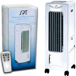 sf610 portable air cooler ionizer purifier fan