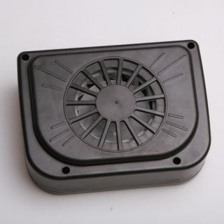 Sun Powered Car Auto Air Vent Cool Cooler Vent Cooling Fan Radiator