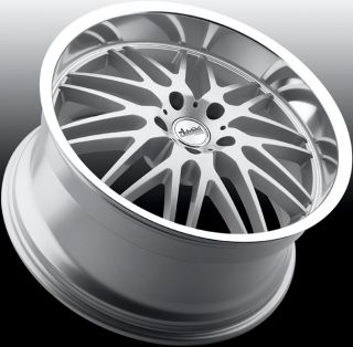 20X8.5 Advanti Racing Kudos 5x114.3 +40 silver rim wheels FITS ACCORD