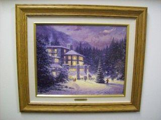 Thomas Kinkade Christmas at The Ahwahnee Paper Print s N 290 980 New