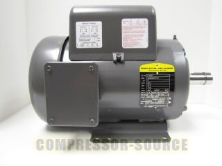 HP SINGLE PHASE BALDOR ELECTRIC COMPRESSOR MOTOR 184T FRAME # L8430T