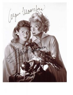 Bewitched Elizabeth Montgomery Agnes Moorehead Signed