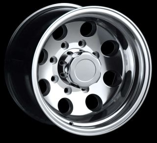 17 ion 171 Polished Wheels Rims 8x170 8 Lug Ford F250 F350 Super Duty
