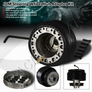 Steering Wheel Hub Adapter for Aftermarket Wheel 6 Hole