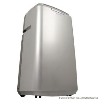14000 BTU Portable Room Air Conditioner Unit AC Cooler Silver