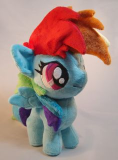 My Little Pony Friendship Is Magic Rainbow Dash Filly Custom Plush