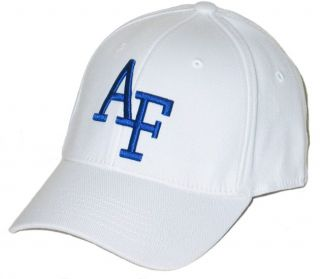 Air Force Falcons USAF Tow Premium White Flex Fit Fitted Hat Cap M L