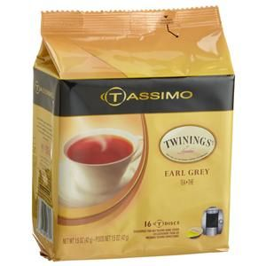 tassimo t discs twinings earl grey tea exp sept 2012