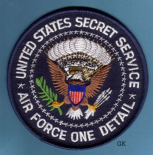 usss air force one presidential seal police patch unused 4 shipping