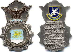 Department of the Air Force Security Forces Prayer Challenge Coin