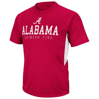 Alabama Crimson Tide Mako Short Sleeve Performance T Shirt   Cardinal