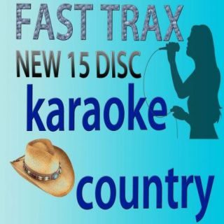 KARAOKE CDG FAST TRAX HOTTEST SONGS IN 15 DISC+1 QUIK HITZ BONUS LOOK