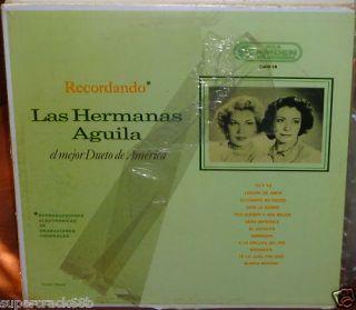 Las Hermanas Aguila El Mejor Dueto de America LP 2