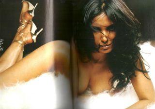 Eva Herzigova ANA Hickmann Madonna Klum Macpherson GQ Magazine Italian