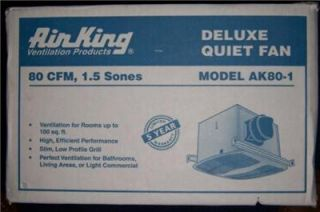 air king deluxe quiet exhaust fan model ak80 1