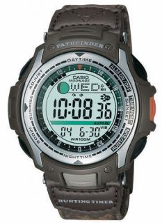 Casio Pathfinder PAS410B 5V Vibrating Alarm Watch