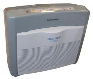 Room Air Purifier Cleaner Filters HEPA Ionic 5MODES for Smoke Allergen