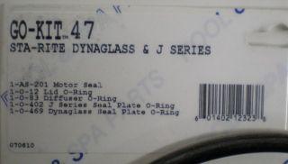 Aladdin Go Kit 47 Sta Rite Dynaglass Pump Repair Kit