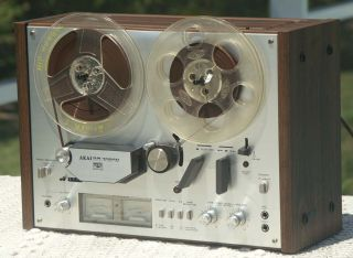 Akai GX 4000D Stereo Reel to Reel Tape Recorder