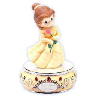 Precious Moments Disney Collection Princess Belle Figurine Musical