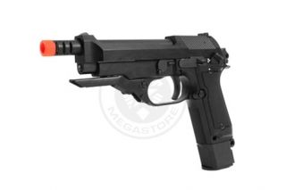 KJW M93R II Airsoft Full Auto Gas Blowback Pistol SMG