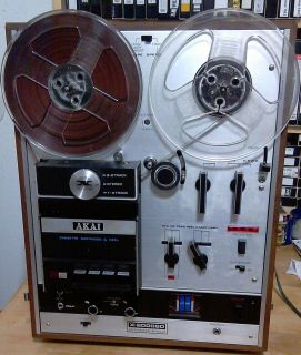 AKAI Reel to Reel Tape Deck and Recorder    Cassette Player   8 Track