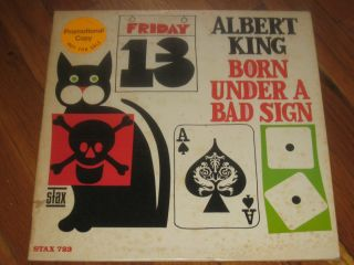 ALBERT KING born under a bad sign STAX rare BLUES LP mono COPY