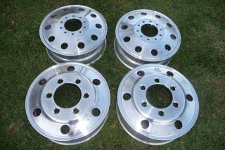 ALCOA RIMS WHEELS TOW TRUCKS BIG TRUCKS DUALLY 19.5 VERY NICE!