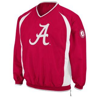 Alabama Crimson Tide Mens Hardball Pullover Jacket Crimson COWJ1483