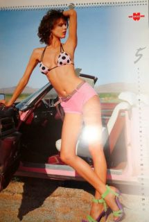 Wurth Swimsuit Calendar 2005 Alessandra Ambrosio Eva Herzigova Models