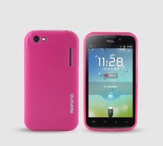 BL MF Skin Cover Case LCD Guard Alcatel One Touch OT 995 Ultra OT 995