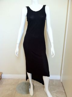 by Alexander Wang Black Longer Back Tank Dress Size M Medium s Small