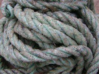 27 Feet Tow Nylon Mooring Rope Alaska King Crab Pot Floats