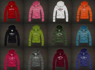 Hollister by Abercrombie Alison Creek Sweats Shirt Jacket Hoodie Women