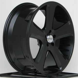 18 inch All Black Wheels Rims Chevy Silverado Truck 1500 Tahoe GMC