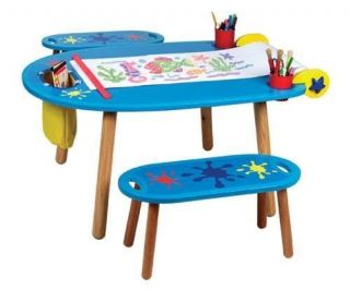 Alex Toys Kids Write Paint Table Desk Chair Young Art